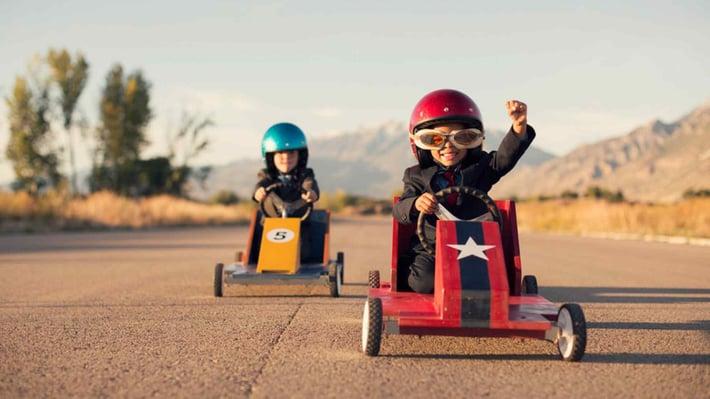 Kids racing experience